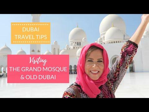 DUBAI (PRE-PANDEMIC) Sheikh Zayed Grand Mosque, Old Dubai, Dubai's Best Restaurant | Kathryn Tamblyn