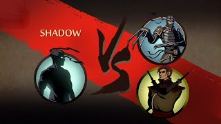 Shadow Fight 2 Act 1 Finishing Off Dandy And Lynx Without hack