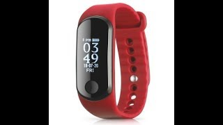 Alfawise Heart Rate Smartband Review Video
