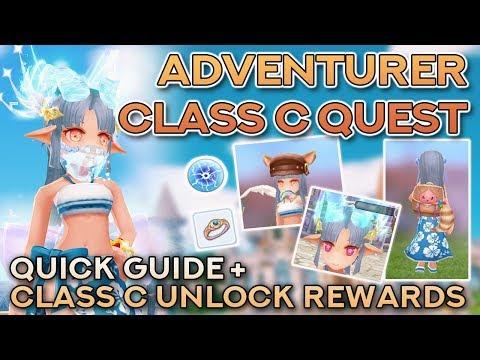 ADVENTURER CLASS C QUEST + UNLOCK REWARDS   Ragnarok Mobile Eternal Love