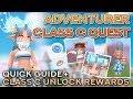 ADVENTURER CLASS C QUEST + UNLOCK REWARDS | Ragnarok Mobile Eternal Love