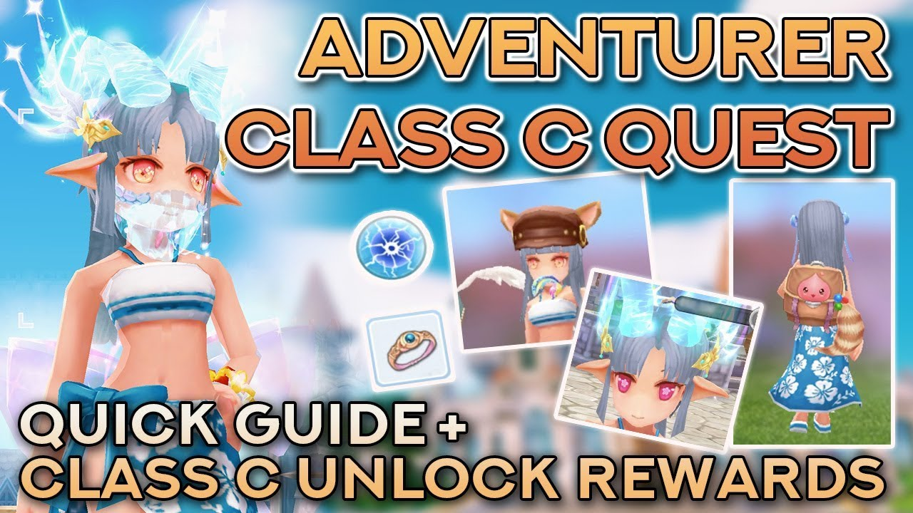 ADVENTURER CLASS C QUEST + UNLOCK REWARDS | Ragnarok Mobile Eternal Love
