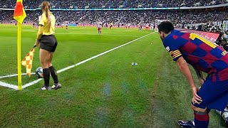 When Football Players Mock Referees