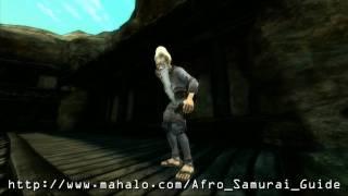 Afro Samurai Walkthrough - The Lowdown East Pass - Brother Six & Two Boss Battle HD