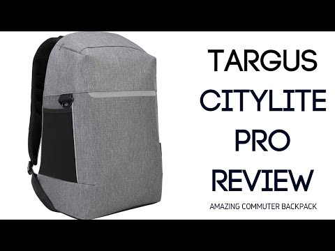 Targus CityLite Security Backpack Review