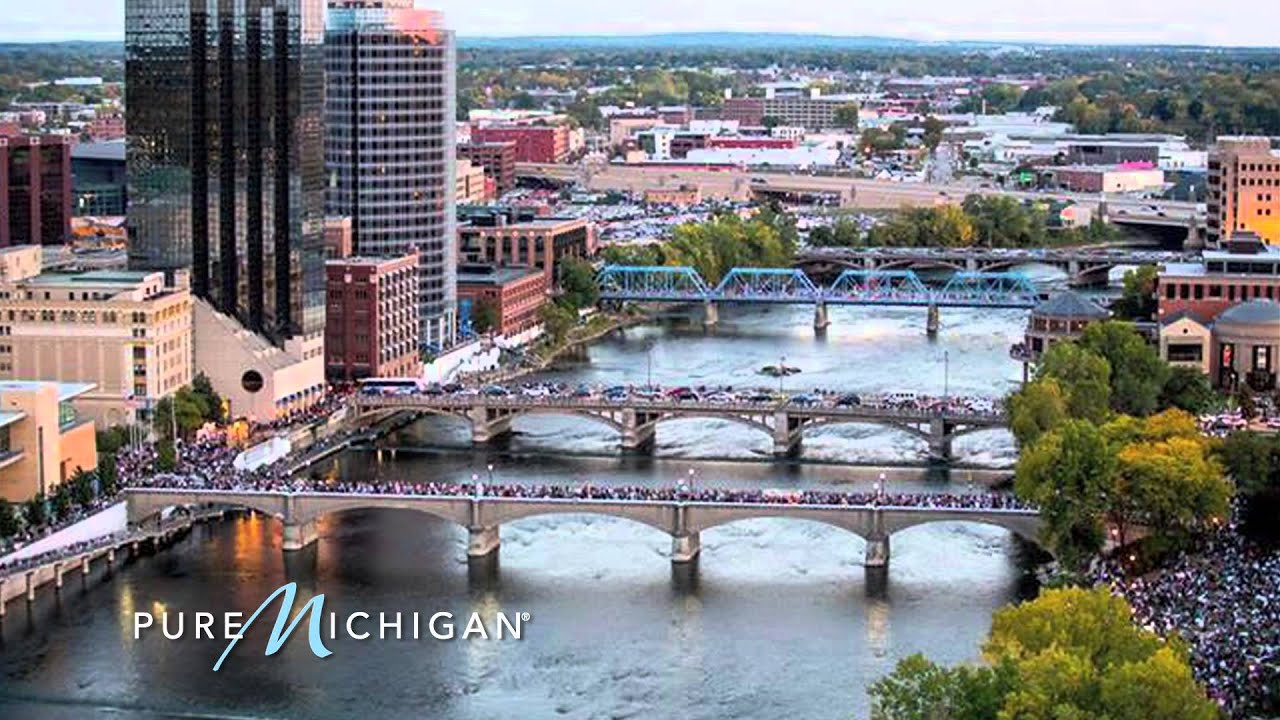 Pure Michigan Fall Wallpaper Artprize In Grand Rapids Pure Michigan Youtube