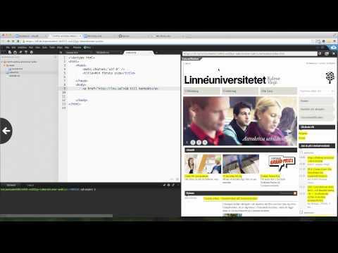 Demo - HTML - Länkar I HTML