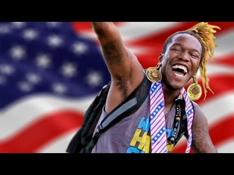 My friends got in the Olympic spirit and decided to narrate everyday stuff in the style of the Olympics. [OLYMPICS IN REAL LIFE]