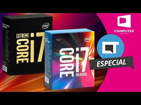 10 núcleos de processamento: Intel Core i7 Broadwell-E Extreme Edition [Especial   Computex 2016]
