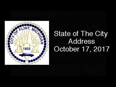 2017 City of Flint Michigan State of The City Address 101717