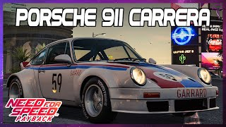 Need for Speed Payback Car customization Porsche 911 Carrera wrap build