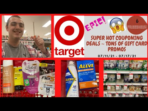 SUPER HOT TARGET COUPONING DEALS! ~ 6 FREEBIES! ~ TONS OF GIFT CARD PROMOS!
