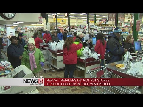 Supermarkets Not Being Built In Connecticut 'food Deserts'