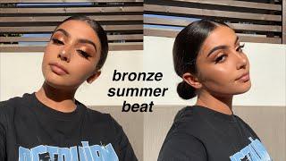 GRWM   Bronzey Copper Summer Glam