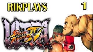 Приключения в Ultra Street Fighter 4  [Эп. 1] Нуб начинает свой путь!