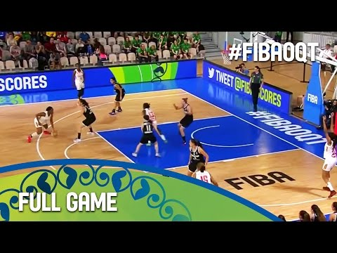 Cameroon v Argentina - Full Game - Group B - 2016 FIBA Women's Olympic Qualifying Tournament