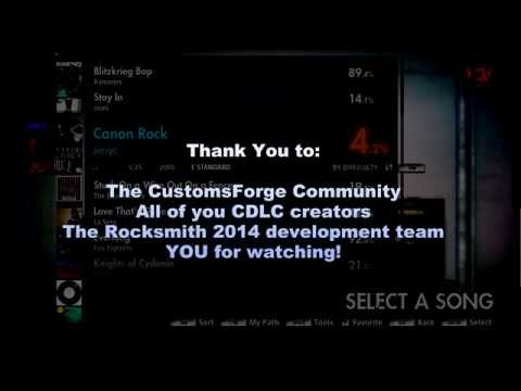 Rocksmith 2014 CDLC How-To, CustomsForge version