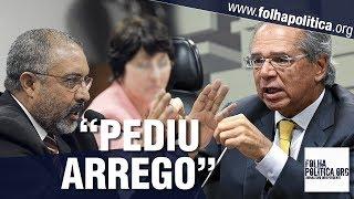 Senador petista tenta enfrentar Paulo Guedes sobre Reforma da Previdência e acaba 'pedindo arrego'