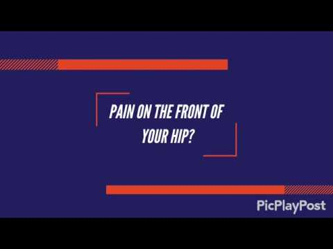 Pain at the front of your hip?