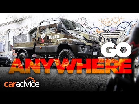 The world's best off-roader? Iveco Daily 4x4 | CarAdvice