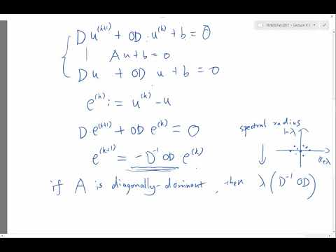 Gauss Seidel iteration Method with Example |Numerical analysis | gauss seidel method in urdu - Hindi from YouTube · Duration:  12 minutes 59 seconds