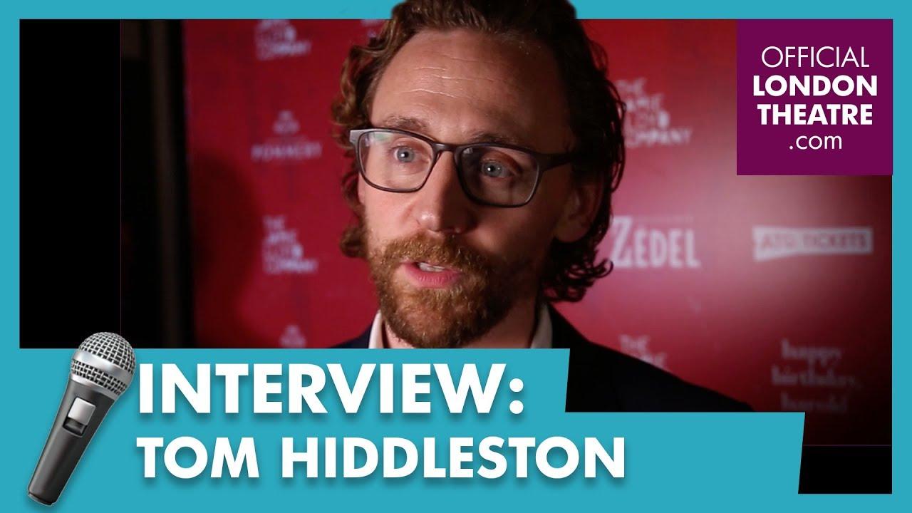 Tom Hiddleston on Harold Pinter