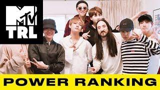 BTS Smashes a Streaming Milestone, Ariana Grande Drops 'Thank U, Next' & More! | TRL Power Ranking