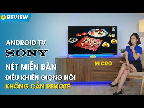 """Android TV Sony 4K: cực nét, tích hợp Micro trên TV, """"đẳng cấp là mãi mãi"""" (X9500H) • Điện máy XANH"""