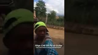 Nhạc Chế Gõ Po và Guitar - Gõ Po Đẳng Cấp BMT 2017 - ( Trịnh + AE 1A )