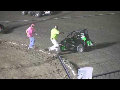 Nasty Crash at port city raceway