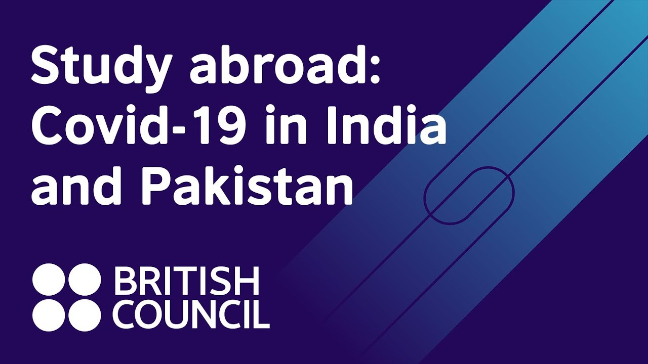 How has Covid-19 influenced overseas study plans in India and Pakistan?