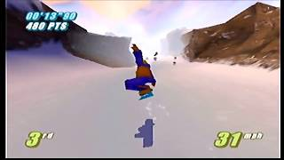 Twisted Edge Extreme Snowboarding | Part 2: Intermediate Competition [N64]