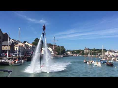 Zapata flyboard show à Pornic