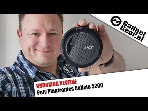 Poly Plantronics Calisto 5200 Unboxing Review NL