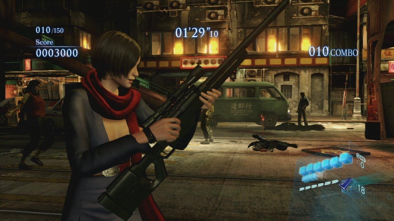Mod Progress 48 Resident Evil 6 Costume And Melee Showcase