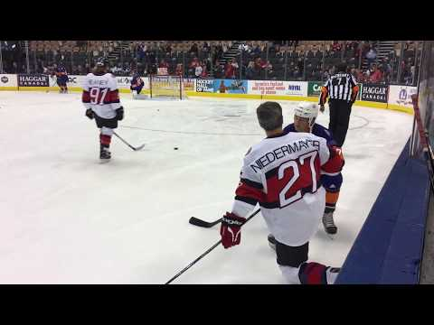 2018 NHL Hockey Hall Of Fame Legends Classic Game! On the bench with players live game action Part 1