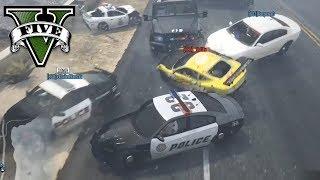 POLICYJNA EKIPA vs ZŁODZIEJASZKI! - FiveM czyli GTA Online - Hogaty i Sylo BUSTED #13
