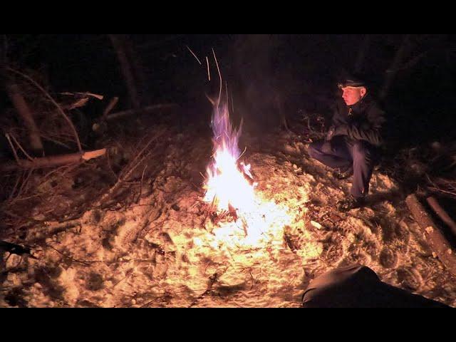Zimowy odpoczynek w lesie / #GOPRO MAX