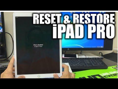 How do i reset new ipad pro 2019