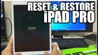 How To Reset & Restore your Apple iPad Pro - Factory Reset