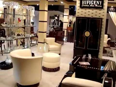 Hifigeny canap art d co paris lustre cristal transparent paris doha youtube for Photos salons luxueux