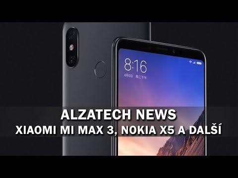 AlzaTech News#22: Samsung Galaxy S10, Xiaomi Mi MAX 3, Nokia X5 a další!