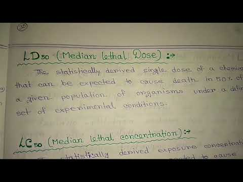 ACUTE TOXICITY, CHRONIC TOXICITY, LD 50 (MEDIAN LETHAL DOSE) ,  LC 50 (MEDIAN LETHAL CONCENTRATION)