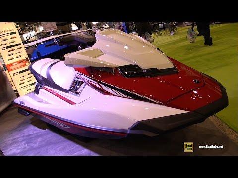 2017 Yamaha FX HO Jet Ski - Walkaround - 2017 Montreal Boat Show
