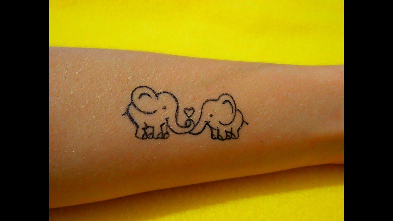 Тату ручкой: фото татуировки, эскизы 75