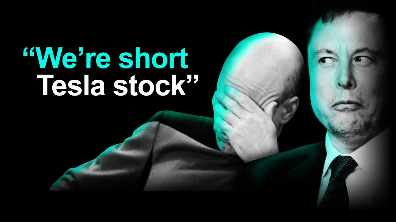 Tesla's Smartest Bear Says: SHORT TESLA STOCK 🤦♂️🤡