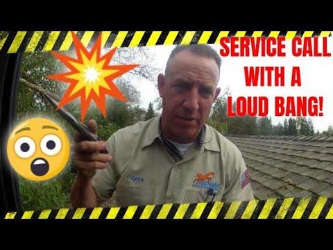 Sacramento HVAC - Service Call with a Bang