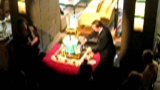 80th Anniversary Cake cutting