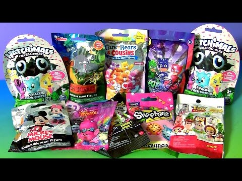 Hatchimals Blind Bags Collection Pj Masks Mickey Care