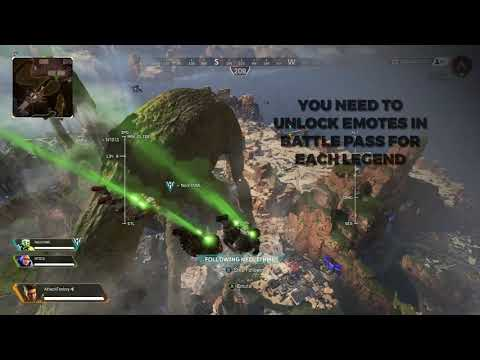 Apex Legends How To Equip Skydive Emotes The Use Of Skydive Emote